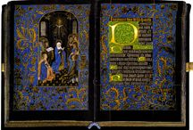 Black hours manuscripts