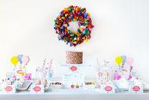 Sprinkles Experience by Sweet Society / Sprinkles dessert table, sprinkles desserts