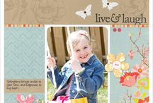 Scrapbook pages / by Clare Hillman