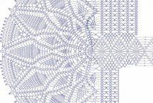 4. Crochet Tablecloth Ideas... / by S. A.