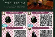 Animal Crossing New Leaf QR codes / by Erzsebet Bathory