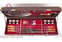Шашлычные набора, наборы для пикника / Kebab sets (picnic sets) is a great choice for picnickers, and as a gift. This category contains products that are in great demand among tourists, hunters, anglers and all those who just love to relax in nature under the skewer!
