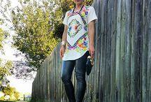 Fashion bloggers / Saints + Secrets Florabotanica Tee Dress -$79 http://www.coochadesigns.com.au/product/florabotanica-tee-dress