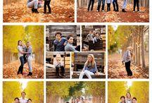 Posen für Familienportraits