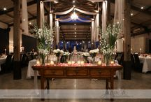 Stones Wedding tables / Wedding tables at stones by Buds n Roses