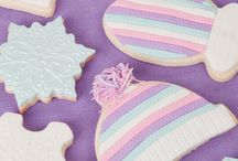 Winter Cake and Cookie Decorating Ideas