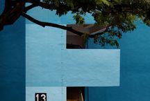 Blue color inspiration / Inspiration i Blue color