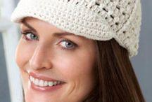 Modelos de chapéu de crochê