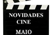 Cine MAIO 2017 / Novidades de CINE en Maio do 2017 na Biblioteca Ánxel Casal