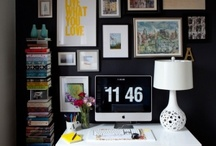 Our Home Office / An awesome atmosphere begets awesome work!  / by Elizabeth Round