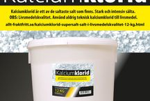 Kalciumklorid supersalt salt i livsmedelskvalitet / Kalciumklorid supersalt salt i livsmedelskvalitet