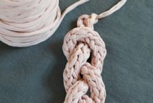 Crocheting, Macrame small projects
