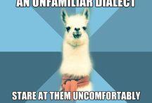 Linguistics :P