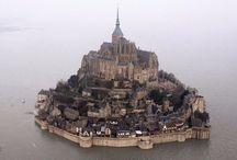 Замок Мон-Сен-Мишель, Франция (Chateau Mont-Saint-Michel, France)