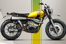 SR 500 Scrambler / Our Future Project