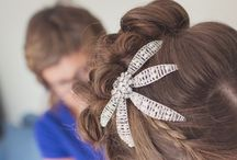Weddings @ Amy Surman Jewellery / A selection of the personalised, handmade tiara's and gifts available from our bespoke service.