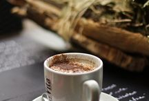 Thé ou Café ... avec une pointe de chocolat / thé café chocolat photo