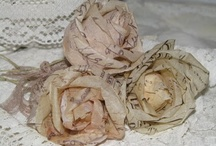 Diy  paperflowers / coffee filter roses