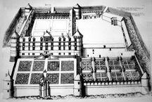 antik házak kastélyok tájak antique house chateau casteau