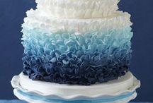 No el pastel sino el tono de azul