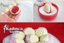 kurabiyeler VE tatlılar