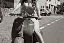 belle in moto