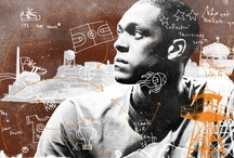 """MY WORK - RED BULL / Illustrations for Red Bull's """"King of The Rock"""" with Rajon Rondo"""