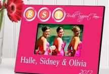 Personalized Gifts For Bridesmaids / If you want to appreciate your friend's efforts in accompanying you on your important day, then gift her personalized item and see her smiling face. With Personalized gifts for Bridesmaids you can create a special memory which will stay with you lifetime, so just send it today.