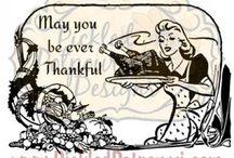 Digital Stamp Catalog - Thanksgiving @ Pickled Potpourri / Thanksgiving Digital Stamps from Pickled Potpourri. Our TOU: http://www.pickled-potpourri.com/terms-of-use