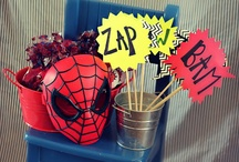 Spiderman Party Theme / .