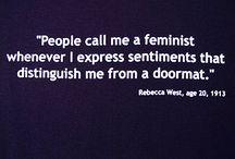 Feminism / by Chloe' Bonar
