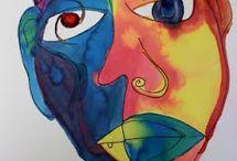 Tekenen Picasso / Tekenen Picasso