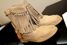 Karma Of Charme / Soft Suede Chained Booties 100% Handcrafted