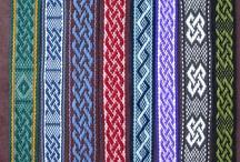 Inkle loom weaving and patterns