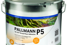 Hardwood Floor Adhesives / Pallmann Adhesives are specifically designed to glue both solid and engineered types of wood flooring.