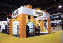 Stand AXION / Les compartimos el diseño integral que se realizo para nuestro cliente AXION! gracias por alegirnos !