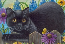 Cats Paintings (Art) / by Marta Oktaba
