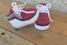 scarpe uncinetto