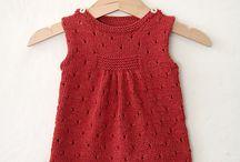 Crochet Knit Baby Dress