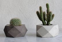 concrete pot