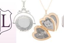 Personalized Lockets - The Most Popular Holiday Gift / Lockets in Gold , Silver and two tone with or without mini- diamonds  are trending as the most popular gift this  holiday season.