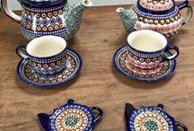Polish pottery