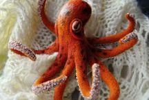 Octopusse / Tintenfische und deren Nachbildungen