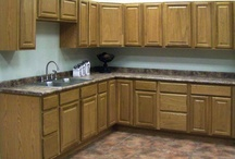 Kitchens / Need some inspiration for your future kitchen remodel? Take a look at our selection cabinets and accessories.
