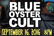 BLUE OYSTER CULT at The Newton Theatre 9/16/2016 / Blue Öyster Cult is one of the greatest hard rock bands of all time. Their ultimate classic songs includes the truly haunting (Don't Fear) The Reaper, the pummeling Godzilla and the hypnotically melodic Burnin' for You. After four decades, they continue thrilling fans worldwide with powerful albums and riveting live shows.
