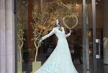 Wedding boutique lighting