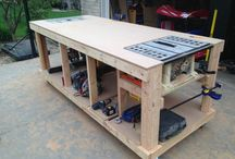 Wonderful Workbenches / Every great #garage needs a functional workbench for #DIY projects. We've collected our favorites! / by Chamberlain