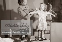 Sewing - 1950s