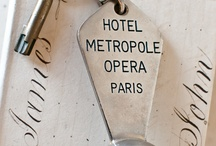 HOTEL ROOM KEYS / Hey, if you're staying somewhere on vacation, you need to be able to get into your hotel room.  What better way then with a key?  Here they are, from vintage to smart!