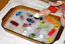 Kids cars and traffic activities